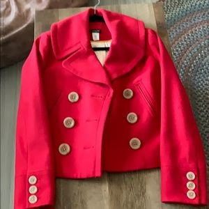 Women's J. Crew wool jacket
